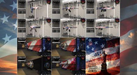 В GTA Online вышло обновление в честь Дня независимости