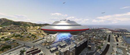 Найден легальный способ увидеть НЛО в GTA Online