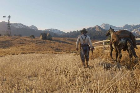 Дикий Запад в Red Dead Redemption 2