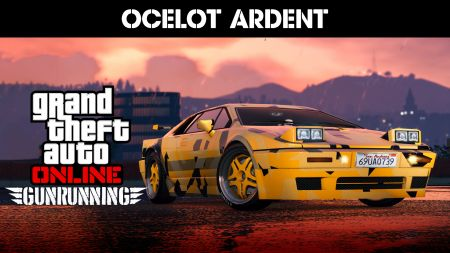 В GTA Online стал доступен новый автомобиль Ocelot Ardent