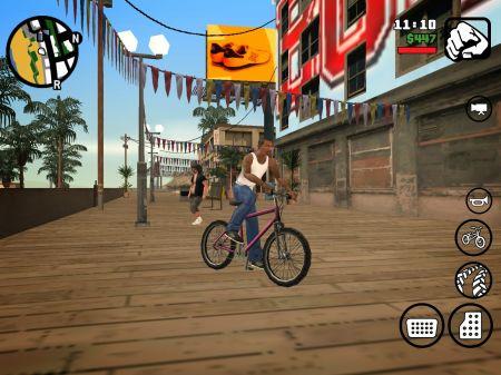 Стрим по спидрану в GTA San Andreas на Android