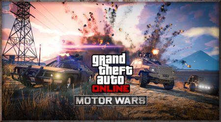"""DLC """"Транспортные войны"""" (Motor Wars) для GTA Online"""