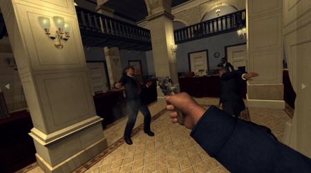 Геймплей L.A. Noire в виртуальной реальности
