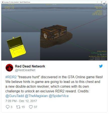 В свежем обновлении GTA Online нашли файлы от Read Dead Redemption 2