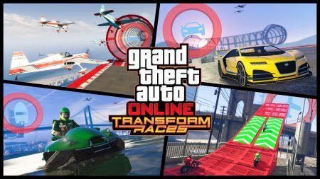DLC (Transform Races для GTA Online