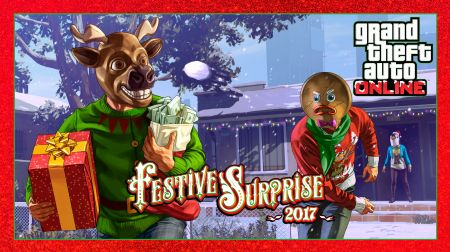 DLC Festive Surprise 2017 для GTA Online