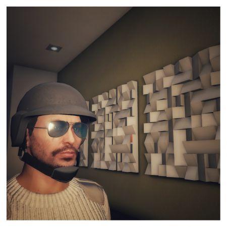 Картина из GTA 5 своими руками