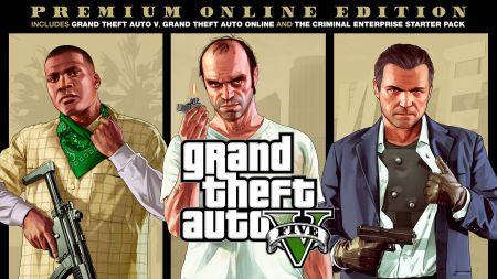 GTA V Premium Edition уже доступна на PS4, Xbox One и PC