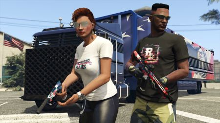 """Новая неделя в GTA Online – """"Платформер"""" и бонусы для предприятий"""