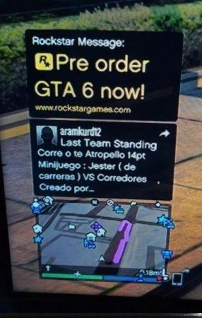 Фейк: сообщение о предзаказе GTA 6