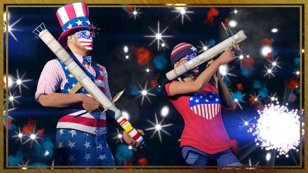 Неделя в GTA Online – бонусы в честь Дня Независимости