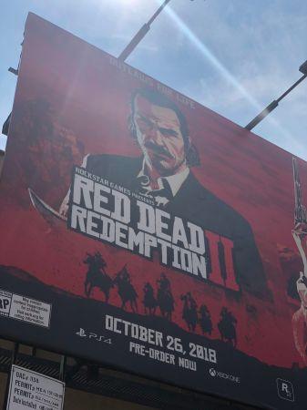 В Нью-Йорке появились промо-баннеры Red Dead Redemption 2