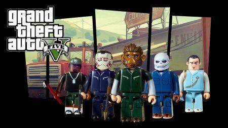 14 сентября в продаже появятся фигурки из GTA 5 и GTA 4