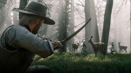 Охота в Red Dead Redemption 2