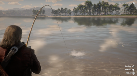 Как рыбачить в Red Dead Redemption 2 и где найти легендарную рыбу