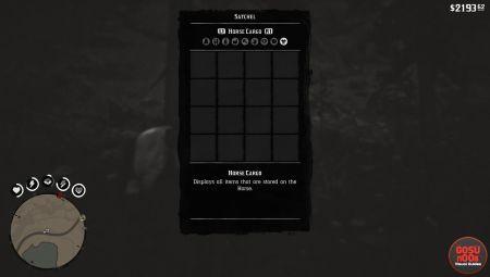 Как хранить вещи на лошади в Red Dead Redemption 2, как увеличить вместимость инвентаря