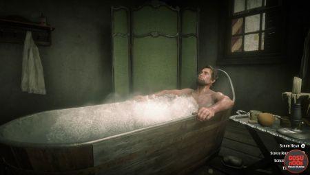 Как чистить свою одежду в Red Dead Redemption 2