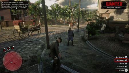 Как избавиться от розыска и не попасть в тюрьму в Red Dead Redemption 2