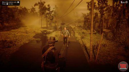 """Как использовать способность """"Мертвый глаз"""" (Dead Eye) в Red Dead Redemption 2"""