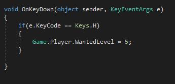 Создание скриптов в GTA 5 на C#: c чего начать? Часть первая