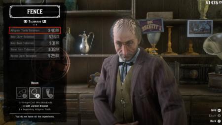 Талисманы в Red Dead Redemption 2 — как их использовать и где найти