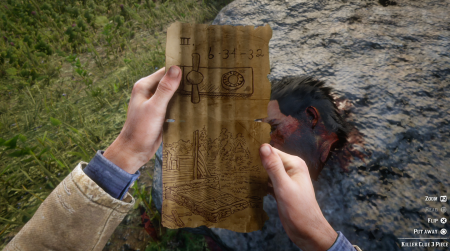 Как найти серийного убийцу в Red Dead Redemption 2 — карта