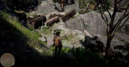 Как попасть в разрушенный поезд и найти предметов на 1000 долларов в Red Dead Redemption 2
