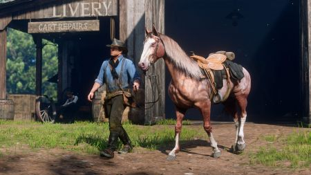 Как найти потерянную лошадь или купить новую в Red Dead Redemption 2