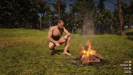 Игроки смогли раздеть Артура Моргана в Red Dead Redemption 2 – скриншоты