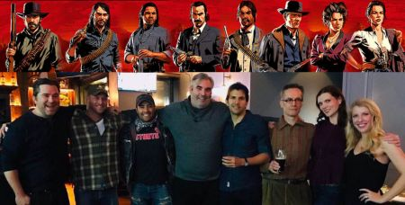 Посмотрите на актёров Red Dead Redemption 2 – Артура Моргана, Датча и других