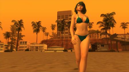Подборка модов с красивыми девушками из Dead or Alive для GTA San Andreas