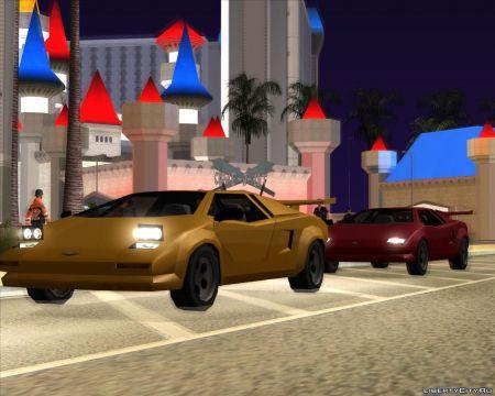 Подборка машин, созданных в стиле GTA San Andreas