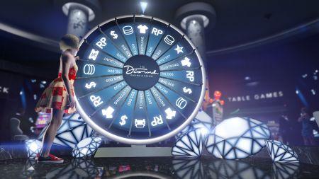 Способ бесконечно крутить колесо удачи в казино в GTA Online