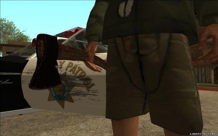 Как установить новое оружие для GTA San Andreas