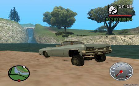 Как установить мод на спидометр для GTA San Andreas