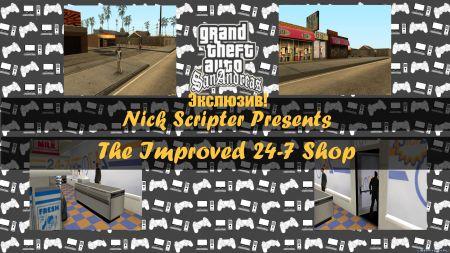 Умные копы в GTA San Andreas, магазины 24-7, переработанные машины и другие авторские моды недели на LibertyCity