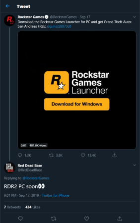 Почему Red Dead Redemption II выходит на PC?