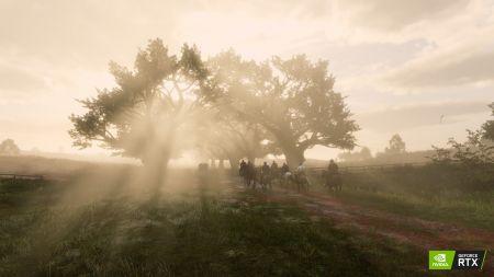 Red Dead Redemption 2 на ПК поддерживает трассировку лучей?