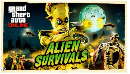В GTA Online появились сражения с пришельцами