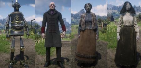 Как играть за любого персонажа в Red Dead Redemption 2