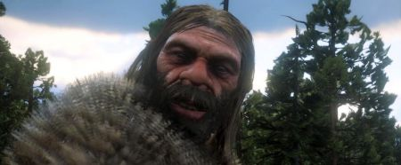 Обнаружена модель пещерного человека в RDR2