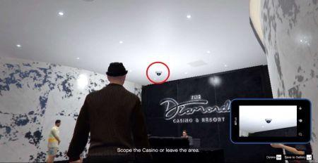 Ограбление казино Diamond - как сделать все фотографии во время разведки