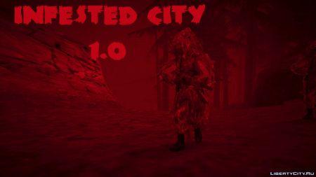 Infested City 1.0, Cowboys: The Tale of Betty Shore 2, новая военная база в SF и другие авторские моды недели на LibertyCity