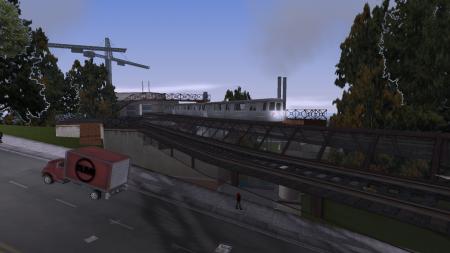 Подборка фотографий: надземное метро в GTA III