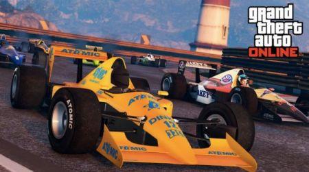 Как сыграть в новые гонки Формулы-1 в GTA Online
