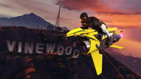 Получите шанс выиграть мотоцикл Nagasaki Shotaro на колесе удачи в GTA Online