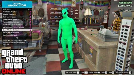 Как получить костюм пришельца в GTA Online