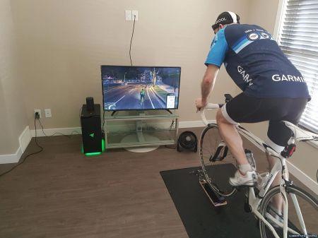 GTA 5 подключили к велотренажеру с помощью мода. Рассказываем, как это сделать