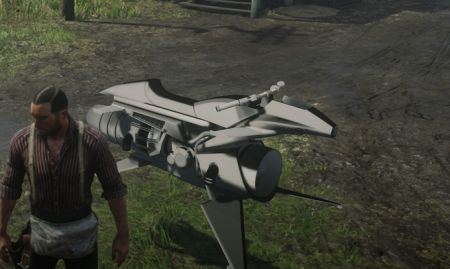 Моддеры добавили в Red Dead Redemption 2 летающий мотоцикл Opressor MK 2 из GTA Online