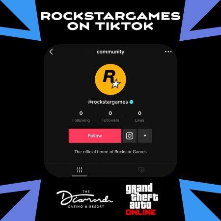 Rockstar Games завела официальный аккаунт в TikTok